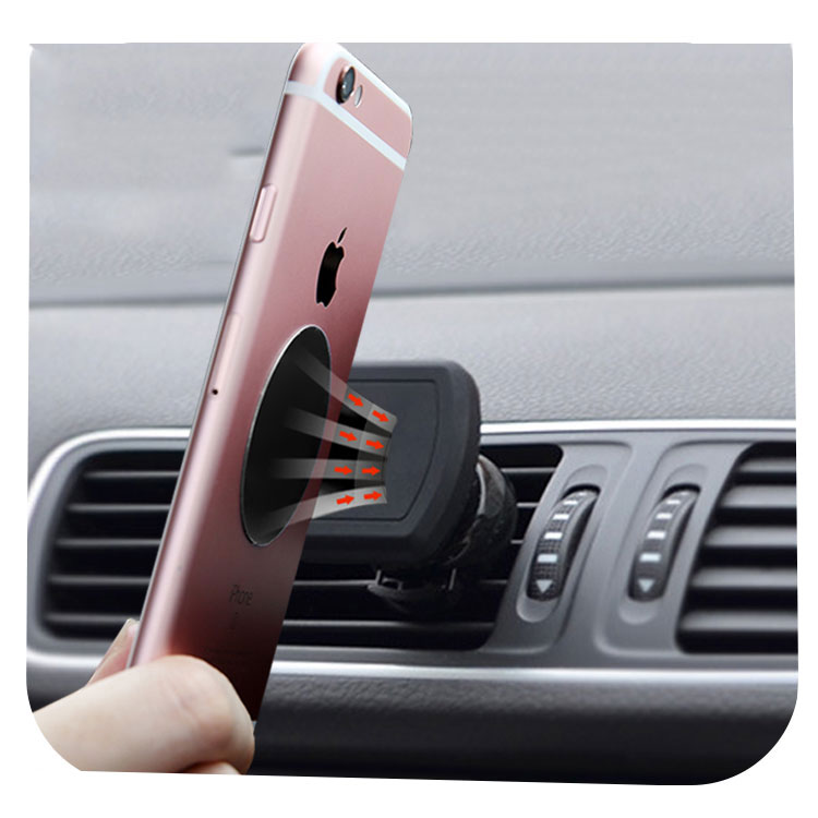 Smartphone Air Vent Mount Magnetic Car Cell Phone Holder
